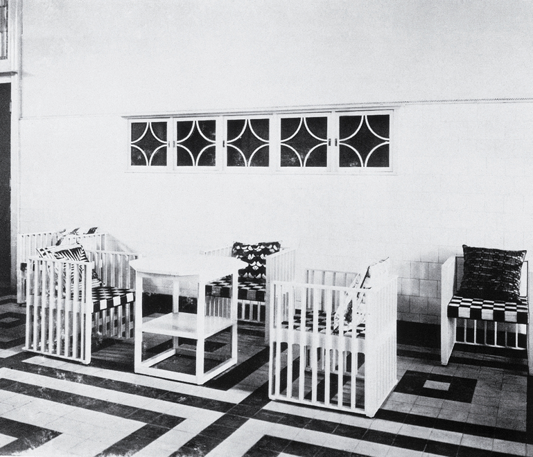 Purkersdorf Sanatorium (historical photo) designed by Josef Hoffmann