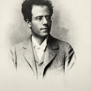 Gustav Mahler potrait of the composer